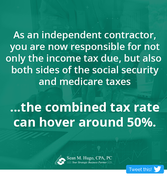 Independent Contractor Taxes - 4 Tips To Reduce Taxes for 1099 Contractors.png