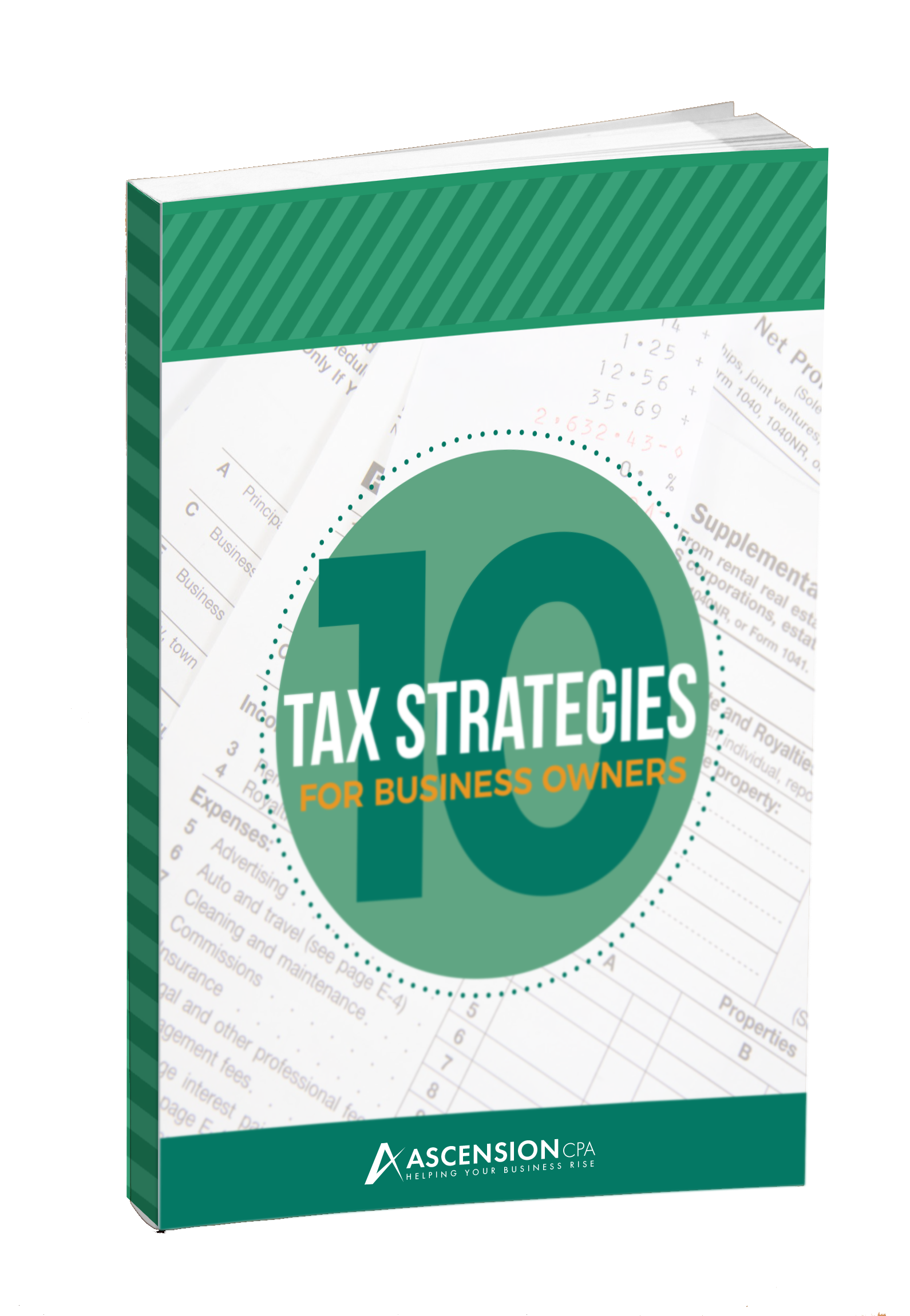 10 Tax Strategies Book Cover